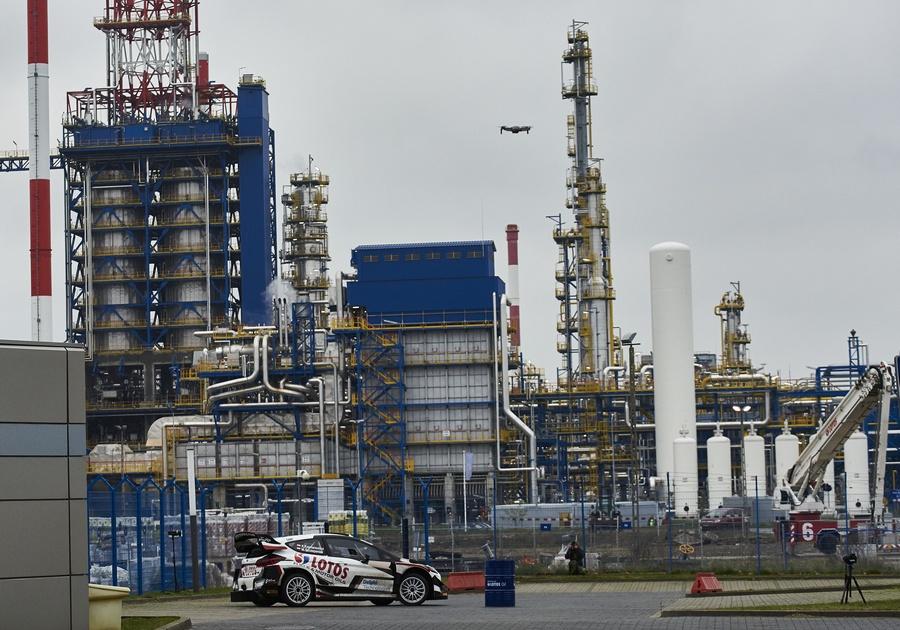 Pierwszy w historii rajd na terenie rafinerii Grupy LOTOS Kajto