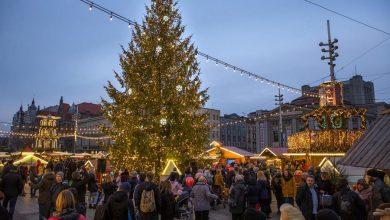 Photo of Świąteczne iluminacje i pięć choinek w Katowicach