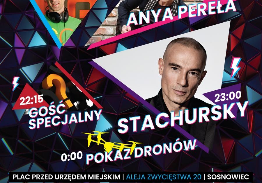Stachursky gwiazdą sylwestra 2019 w Sosnowcu