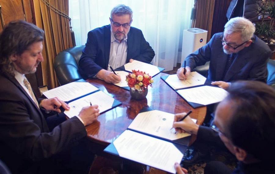 Podpisanie listu intencyjnego na rzecz przywrócenia wyścigów konnych w Krakowie
