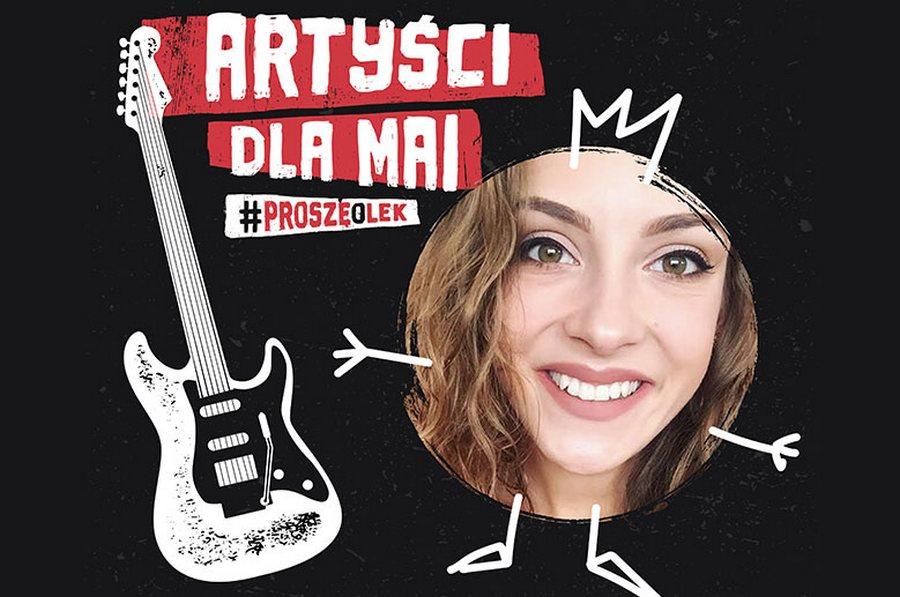 Artyści dla Mai #proszęolek