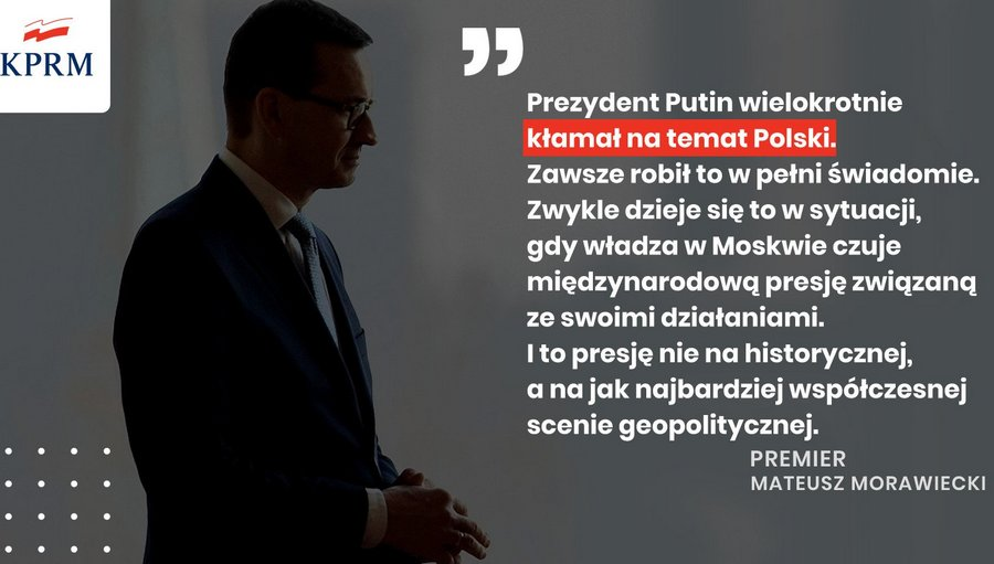 Oświadczenie Prezesa Rady Ministrów Mateusza Morawieckiego