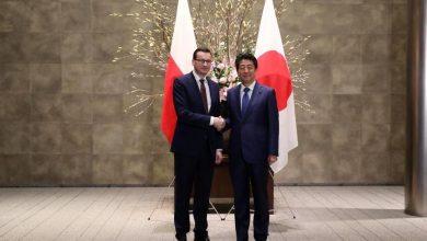 """Photo of Wizyta Morawieckiego w Tokio. """"Nie tylko Wiedźmin, a też Mickiewicz i Słowacki są znani w Japonii"""""""