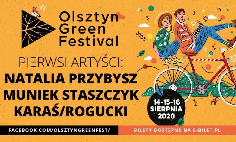 Photo of Natalia Przybysz, Muniek Staszczyk i duet Karaś/Rogucki na Olsztyn Green Festival 2020