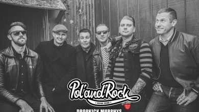 Photo of Bostońscy punkowcy Dropkick Murphys zagrają na Pol'and'Rock Festival 2021