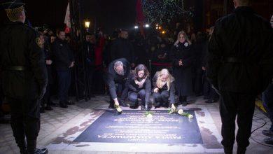 Photo of Gdańsk. Aleja Pawła Adamowicza otwarta. Pamiątkowa tablica