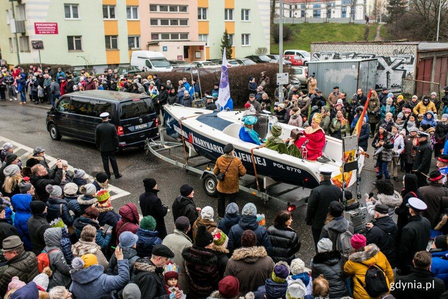 Orszak Trzech Króli przeszedł ulicami Gdyni