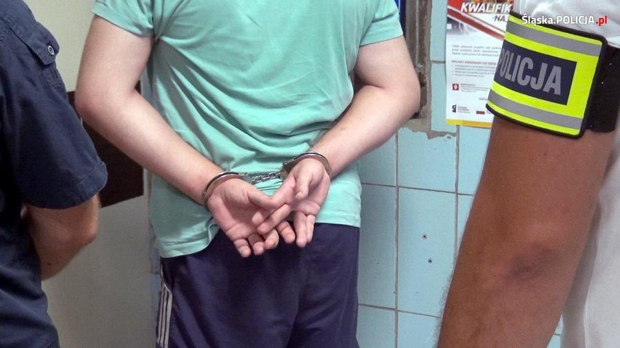policja kajdanki
