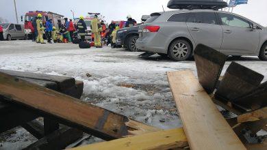 Photo of Wichura. Tragedia w Bukowinie Tatrzańskiej. Dach spadł na grupę osób. Dwie osoby zginęły