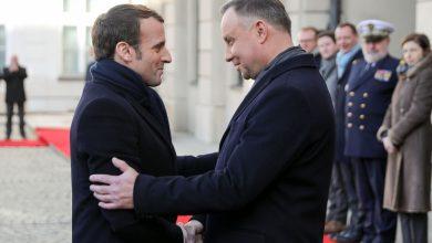 Photo of Prezydent Francji Emmanuel Macron po raz pierwszy w Polsce