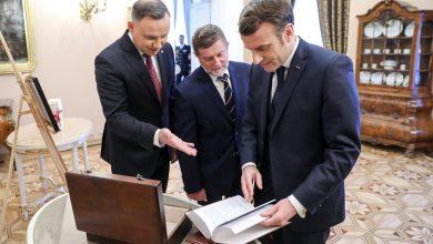 Photo of Prezydent Francji Macron w Warszawie. Zaprosił na obchody 14 lipca