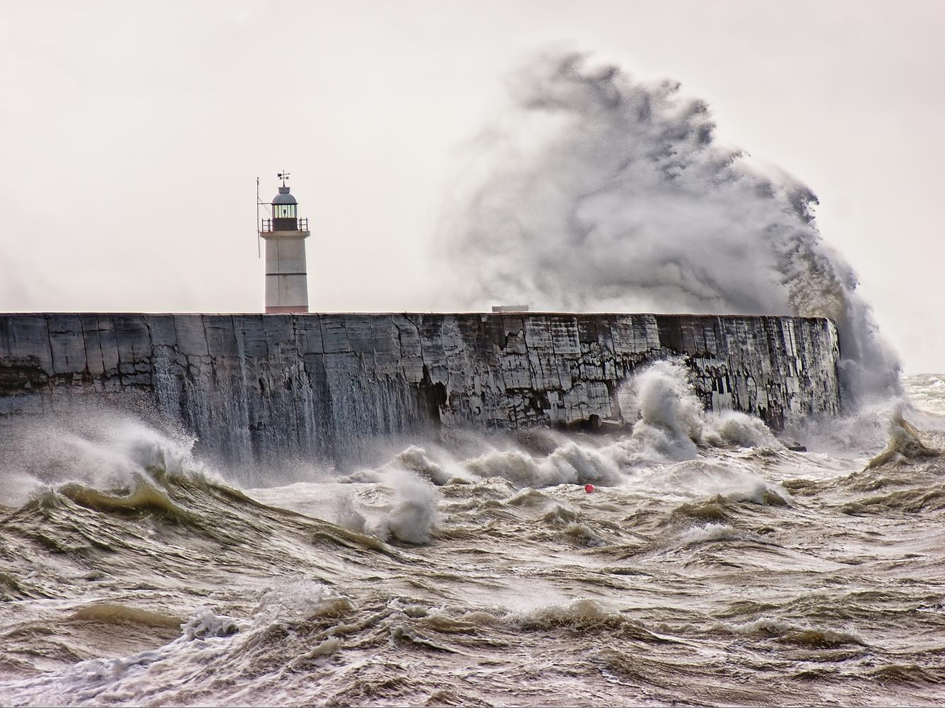 sea morze sztorm pogoda wiatr