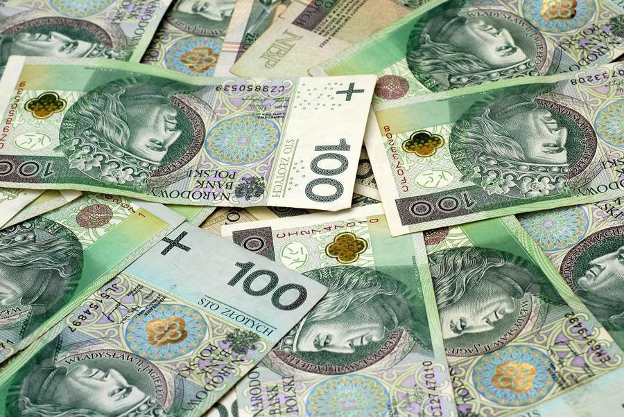 polskie pieniądze banknot