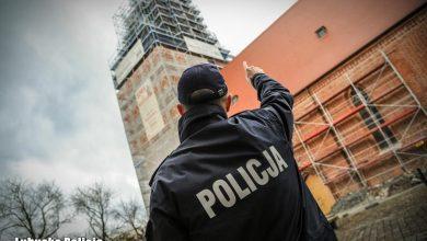 Photo of Chodził po rusztowaniu gorzowskiej katedry. O trzy promile bliżej od tragedii