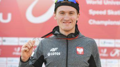 Photo of Marcin Bachanek akademickim mistrzem świata w łyżwiarstwie szybkim