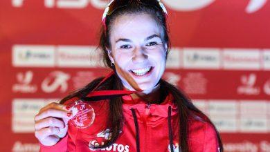 Photo of Magdalena Czyszczoń wicemistrzynią świata w łyżwiarstwie szybkim!