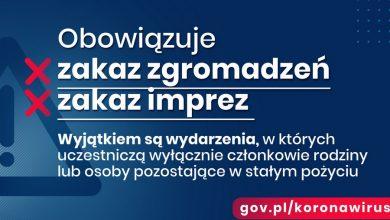 Photo of Koronawirus w Polsce. Ograniczenie przemieszczania, zakaz imprez!