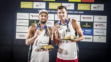 Photo of Katara Beach Volleyball Cup Doha 2020. Grzegorz Fijałek i Michał Bryl ze złotym medalem!
