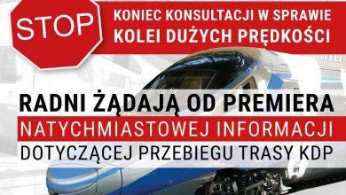 Photo of CPK. Łódź przeciwko zmianie przebiegu linii Kolei Dużych Prędkości