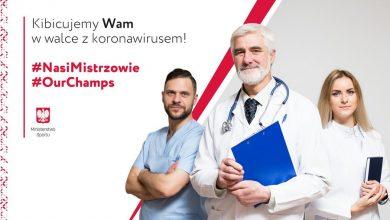 """Photo of Koronawirus. Sportowcy kibicują lekarzom. """"Nasi Mistrzowie"""" są wśród nas!"""