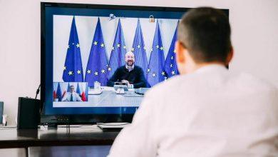 Photo of Walka z koronawirusem. Rozmowa polskiego premiera z Charlesem Michelem i Angelą Merkel