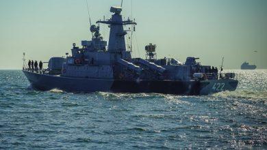 """Photo of ORP """"Piorun"""" na Bałtyku. Trwa szkolenie ogniowe"""