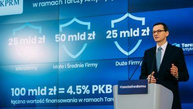 Photo of Tarcza Finansowa. 100 mld zł trafi do przedsiębiorstw