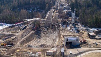 Photo of Nowoczesny kompleks skoczni narciarskich w Zakopanem w budowie [ZDJĘCIA]