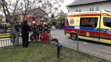 Photo of Nietrzeźwy kierowca potrącił dwoje dzieci i uciekł. Wpadł do rowu
