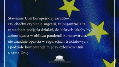 Photo of Koronawirus. PiS kłamie ws. działań UE. Interwencja RPO