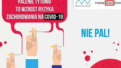 Photo of Światowy Dzień Bez Tytoniu. Palenie zwiększa ryzyko zakażenia koronawirusem!