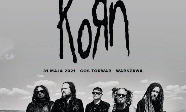 Photo of KORN wystąpi na warszawskim Torwarze