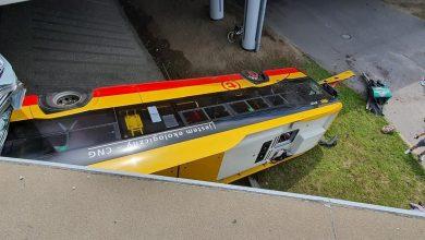 Photo of Dramatyczny wypadek w Warszawie. Autobus spadł z wiaduktu. Są ranne osoby