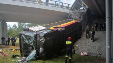 Photo of Wypadek autobusu w Warszawie. Kierowca był 13 razy karany. Wykryto amfetaminę w organizmie