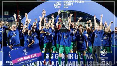 Photo of Piłkarki Górnika Łęczna zdobyły Puchar Polski Kobiet