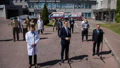 Photo of COVID-19 w Polsce: 94,5% wolnych respiratorów, 84,3% wolnych łóżek