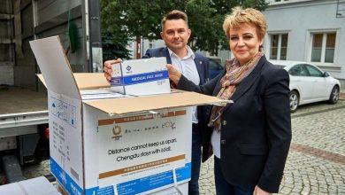Photo of Łódź. 12 tysięcy certyfikowanych maseczek ochronnych dotarło z Chin