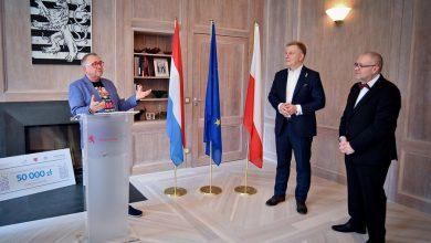 Photo of Luksemburg dla WOŚP. 50 tys. złotych na wspomaganie oddechu u noworodków