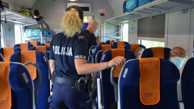 Photo of Pomorskie. Policjanci przypominają – nośmy maseczki i zachowajmy dystans!