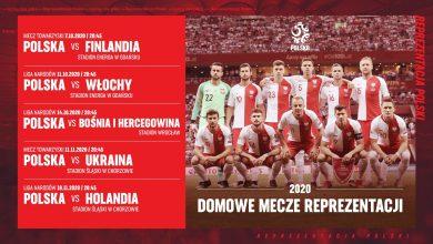 Photo of Reprezentacja Polski w 2020 roku. Poznaliśmy lokalizacje domowych meczów
