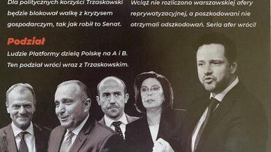 """Photo of Skandal! Poczta Poczta straszy Trzaskowskim. """"Wróci: bieda, konflikt i kryzys"""""""