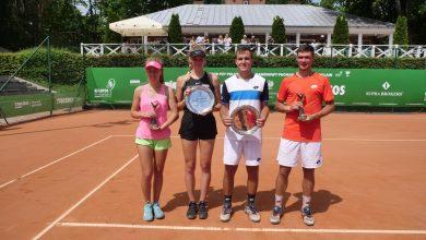 Photo of Magdalena Fręch i Kamil Majchrzak triumfatorami w turnieju tenisowym we Wrocławiu