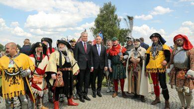 Photo of Obchody 610. rocznicy bitwy pod Grunwaldem. Duda: dzisiaj Polska i Litwa już bez mieczy