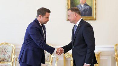 """Photo of Pałac Prezydencki. Trzaskowski spotkał się z Dudą. """"Wybory nie były równe"""""""
