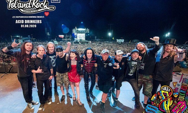Photo of Pol'and'Rock Festival 2020. Urszula, Acid Drinkers i Farben Lehre na Najpiękniejszej Domówce Świata