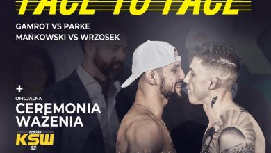 Photo of Ceremonia ważenia i face to face przed galą KSW 53: Reborn