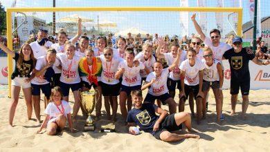 Photo of Puchar Polski 2020 – beach soccer. Lady Grembach Łódź i Boca Gdańsk mistrzami Polski w piłce nożnej plażowej