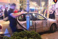 Photo of Pijany i bez prawa jazdy. Nocny rajd 21-latka deptakiem w Kielcach