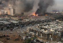 Photo of Liban. Wybuch w Bejrucie. Eksplozja saletry amonowej w porcie. Zginęło co najmniej 100 osób [WIDEO]