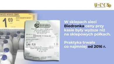 Photo of Inna cena w kasie niż na półce. 115 mln zł kary na Biedronkę